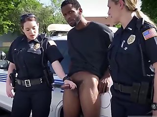 Milf condom and cop blowjob blackmail xxx We are the Law my niggas, and the law needs