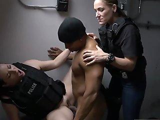 Amateur black lick ass Purse Snatcher Learns A Lescompanion s son