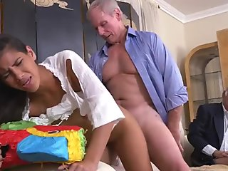 Teen strip blowjob Going South Of The Border